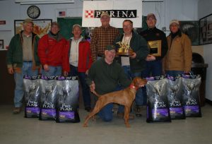 Abby Vizsla - Midwest Futurity Winner